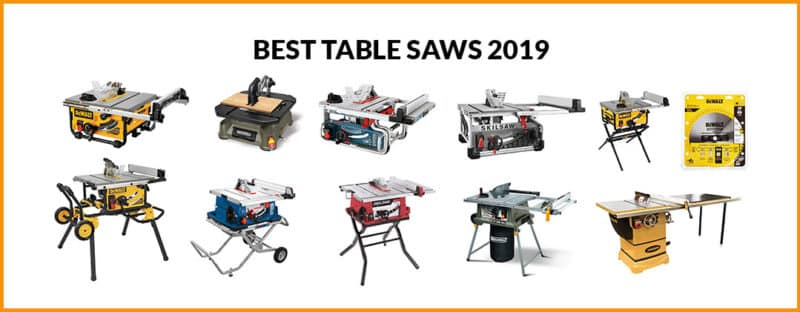 10 Best Table Saws Review – 2020