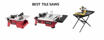 Best Tile Saws