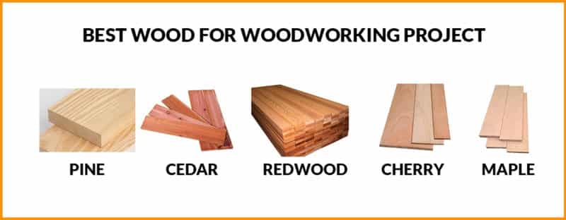 Best Wood for Woodworking Project