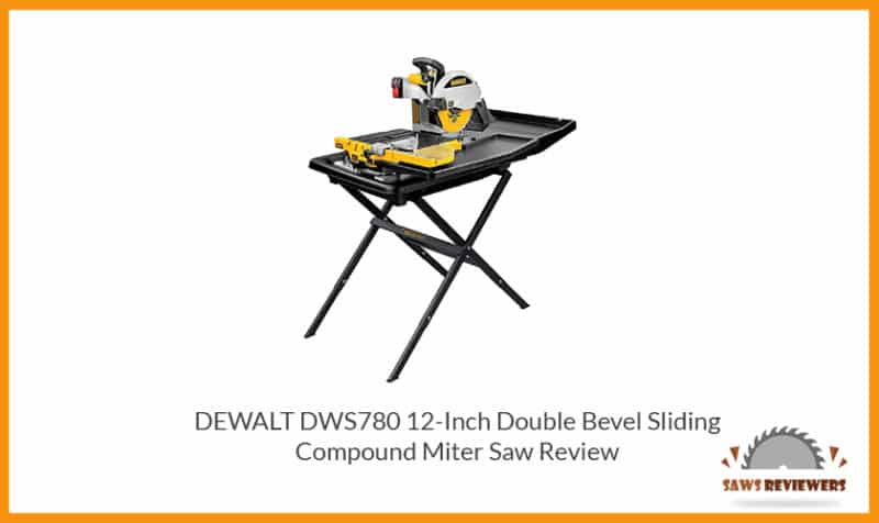 DEWALT D24000S 10-inch Wet Tile Saw with Stand