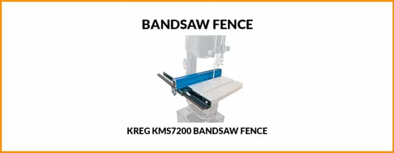 Kreg Bandsaw Fence KMS7200