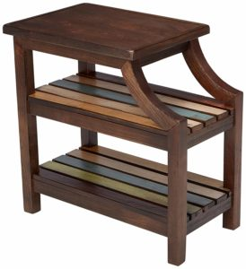 Mestler Casual Chair Side End Table