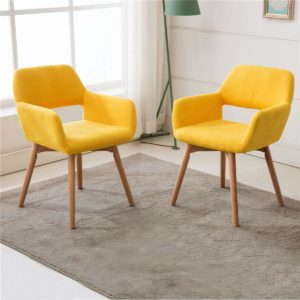 Modern Living Dining Room Accent Arm Chairs