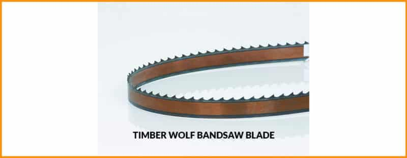 Timber Wolf Bandsaw Blade Review