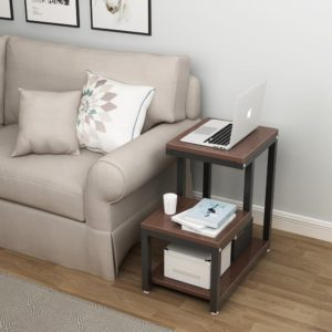 Tribesigns Rustic End Table