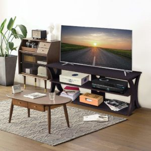 Universal TV Stand Storage Console with Storage Shelves