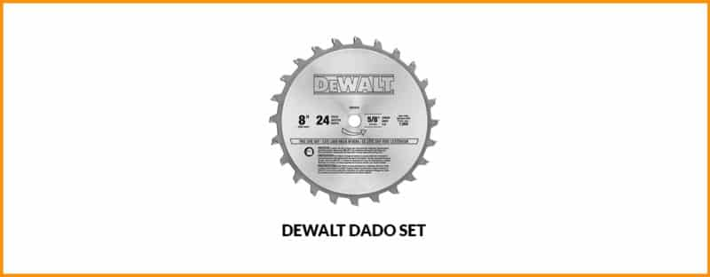 Best Dewalt dado set